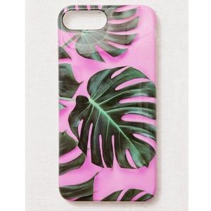 Urban Outfitters Recover Palms On Pink iPhone Case